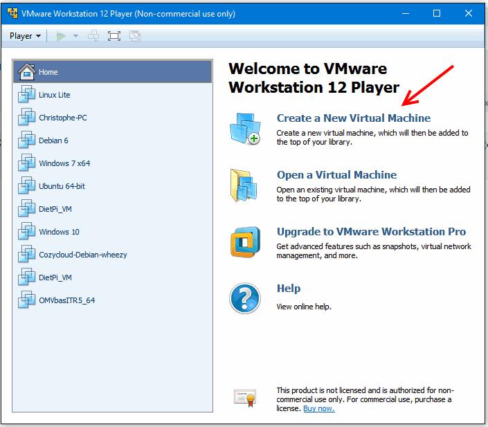 VMware erreur1